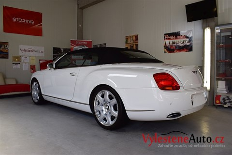 Bentley Continental Convertible W12 6.0 twin turbo Mansory
